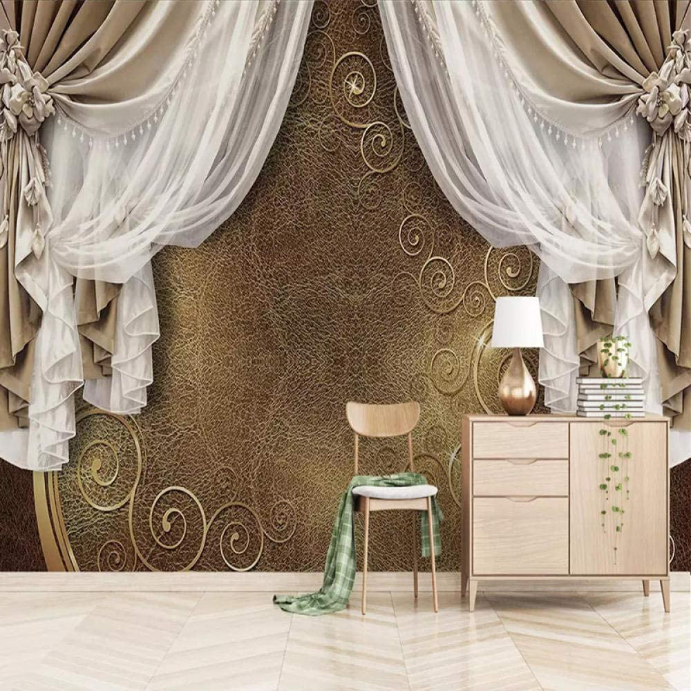 XIAZILH 3D Removable Max 87% OFF Don't miss the campaign Vinyl Wall Inch 66X96 Mural Stickers Design