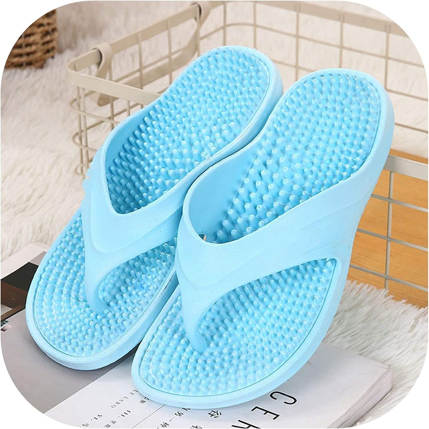 Beach Ladies flip Flops Non-Slip Indoor Massage Slippers Casual Wild Women,
