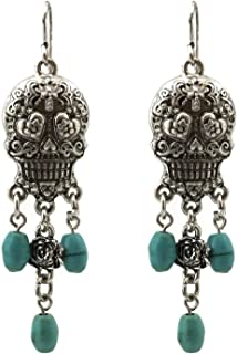 Best dangling skull earrings Reviews