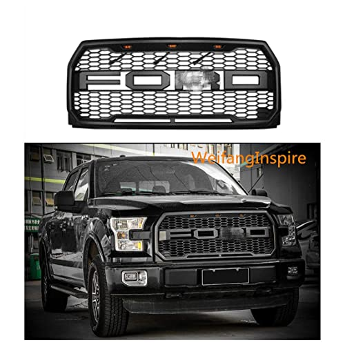 2015 Ford F150 Grill >> Black Grille Ford F 150 2015 Amazon Com