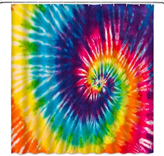 Printed in the USA. Eclectic Watercolor Fabric Print in Multi 2 Textile Print  Cotton Fabric  Psychadelic  Tie-Dye fabric