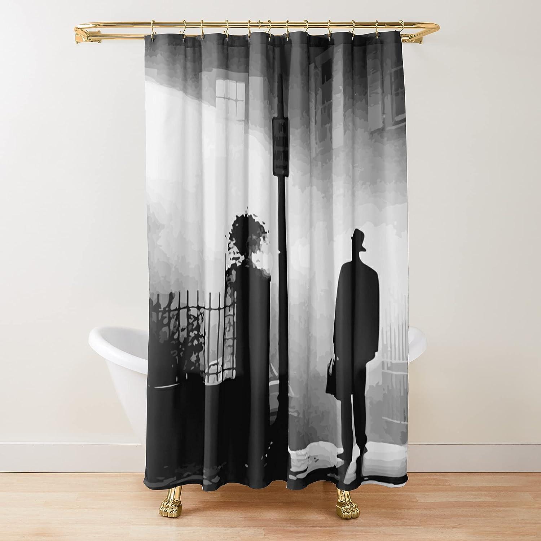 Exorcist Fabric Shower Curtains Bathroom online shop Arlington Mall Curt Customize Printed