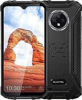 OUKITEL WP8 Pro SIMフリー スマホ本体 IP68&IP69防水 防塵 耐衝撃 アウトドアスマートフォン 6.49インチAndroid 10 4GB RAM + 64GB ROM 5000mAh指紋認識 顔認証 デュアルSIM(...