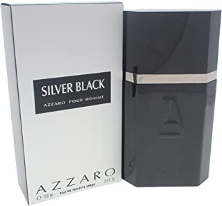 Azzaro Silver Black By Azzaro For Men. Eau De Toilette Spray 3.4 OZ