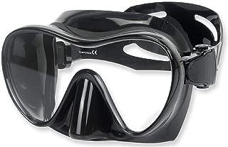Phantom Aquatics Frameless Dive Mask - Great for Spearfishing, Freediving, Snorkeling | Premium Adult Men Women Silicone Dive Mask, Low Profile, Quick Adjustable Strap, Folds Flat