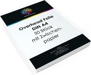 110 Mic für Farb,-Kopierer//Laserdrucker Spezialfolie DIN A3 opak weiss kopier