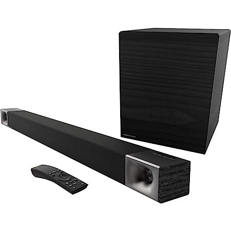 Klipsch Cinema 600 Sound Bar 3.1 Home Theater System con HDMI-ARC para una fácil configuración, Color Negro