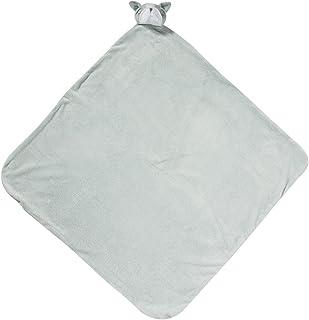 Angel Dear Grey BullDog Napping Blanket