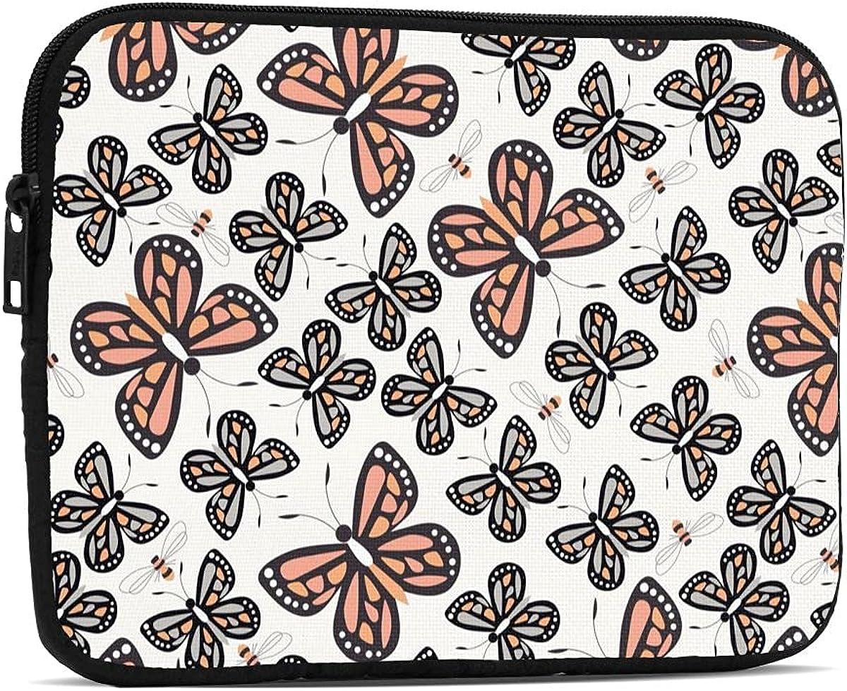Bombing new work Butterflies iPad Mini Case 5 Table Austin Mall Shockproof Sleeve