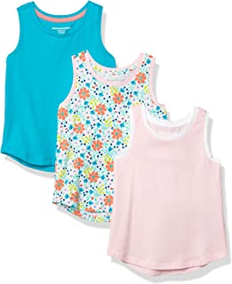 Amazon Essentials Girls' Big 3-Pack Tank Top