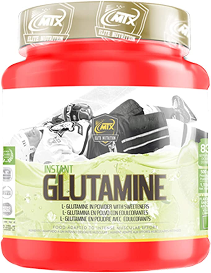 MTX nutrition GLUTAMINE R.GOLD (500g.) Naranja – Suplemento PREMIUM de L-Glutamina en polvo KIOWA_Quality enriquecida con Vitamina B6 y aromatizada ...