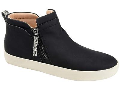 Journee Collection Comfort Foamtm Frankie Sneakers (Black) Women