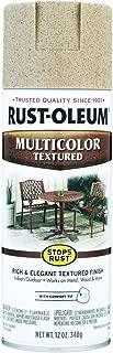 12 Oz Desert Bisque Multicolor Textured Stops Rust Spray Paint [Set of 6]