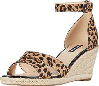 NINE WEST Jabrina Espadrille Wedge Sandal Natural Multi 8.5