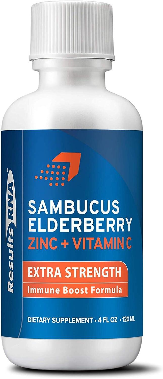 Results RNA Sambucus Elderberry ZINC Super Special SALE held C Vitamin and Popular overseas Shot