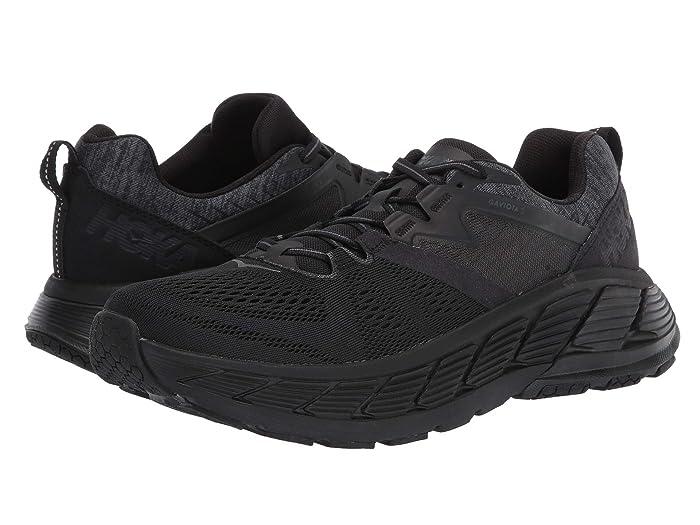 Hoka One One Gaviota 2 (Black/Dark Shadow) Men's Running Shoes