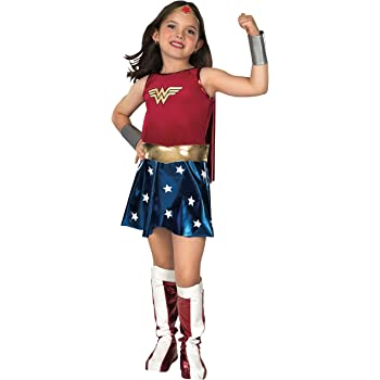 Rubies Wonder Woman Deluxe - Niños Disfraz - Medium - 132cm ...
