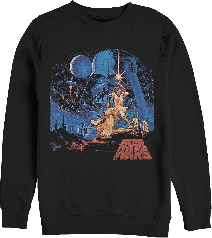 Men's Star Wars Sweatshirt Scene Classic Jacksonville Complete Free Shipping Mall