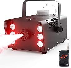 Fog Machine, 450W 6 LEDs Smoke Machine with 2500CFM Fog, Theefun 7 Colors & Strobe..