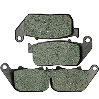 Non-Metallic Organic NAO Brake Pads Set KMG Rear Brake Pads for 2007-2011 Harley XL 1200 L Sportster Low
