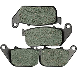 Foreverun Motor Front and Rear Brake Pads for Harley Davidson Sportster XL 883 Iron 2009 2010 2011 2012