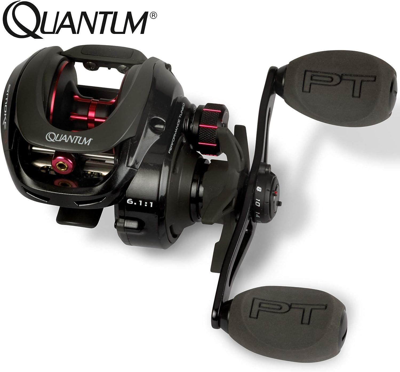 Quantum Smoke S3 LH 101 HPT - - - Baitcaster Multirolle zum Spinnfischen auf Hechte, Zander & Barsche, Spinnrolle, Baitcasterrolle B07LD665FC  Angenehmes Gefühl c32736