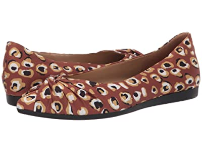 Naturalizer Renata (Brown Multi Spotted Leopard Fabric) Women