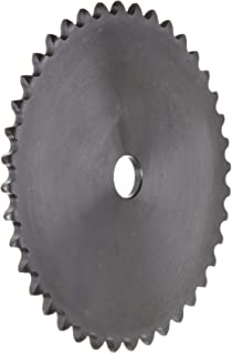 Browning 35A40 Plate Roller Chain Sprocket, Single Strand, Type A Hub, Steel, 5/8