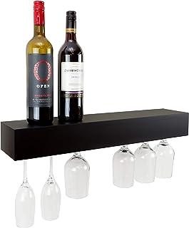 Nexxt Pinot Series - Estante para Copas de Vino, 61 x 7,6 x 12,7 cm, Capacidad para 6 Copas