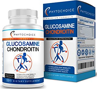 Glucosamine Chondroitin MSM Turmeric Boswellia - Joint Support Supplement for Joint Pain Relief Helps Inflammatory Respons...