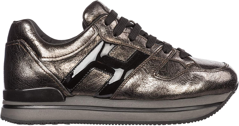 .Hogan Women H222 Sneakers silver