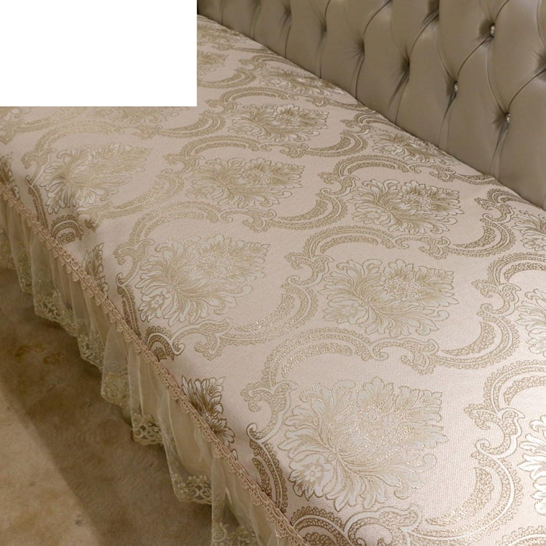 European Style Sofa Pad Luxurious,Summer,Anti-skidding,Sofa Mat Living Room,Simple Modern Sofa Towel-B 65x120cm(26x47inch)