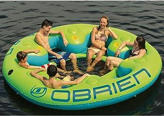 Obrien Party Lounge - Badeinsel, Badelounge, Party Oase mit 6 Getränkehaltern/Für bis zu 6 Pers. / ca. 320cm Durchmesser