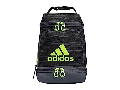 adidas Excel Lunch Bag (Looper Black/Onix/Signal Green) Bags