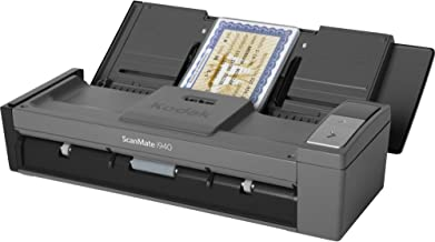 $363 » Kodak 1960988 Scanmate i940 - Document scanner - Duplex - 8.5 in x 60 in - 600 dpi x 600 dpi - up to 20 ppm (mono) / up to...