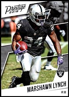 2018 Prestige NFL #80 Marshawn Lynch Oakland Raiders Panini Football Card