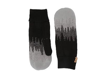 tentree Purcell Mittens (Meteorite Black Juniper) Over-Mits Gloves