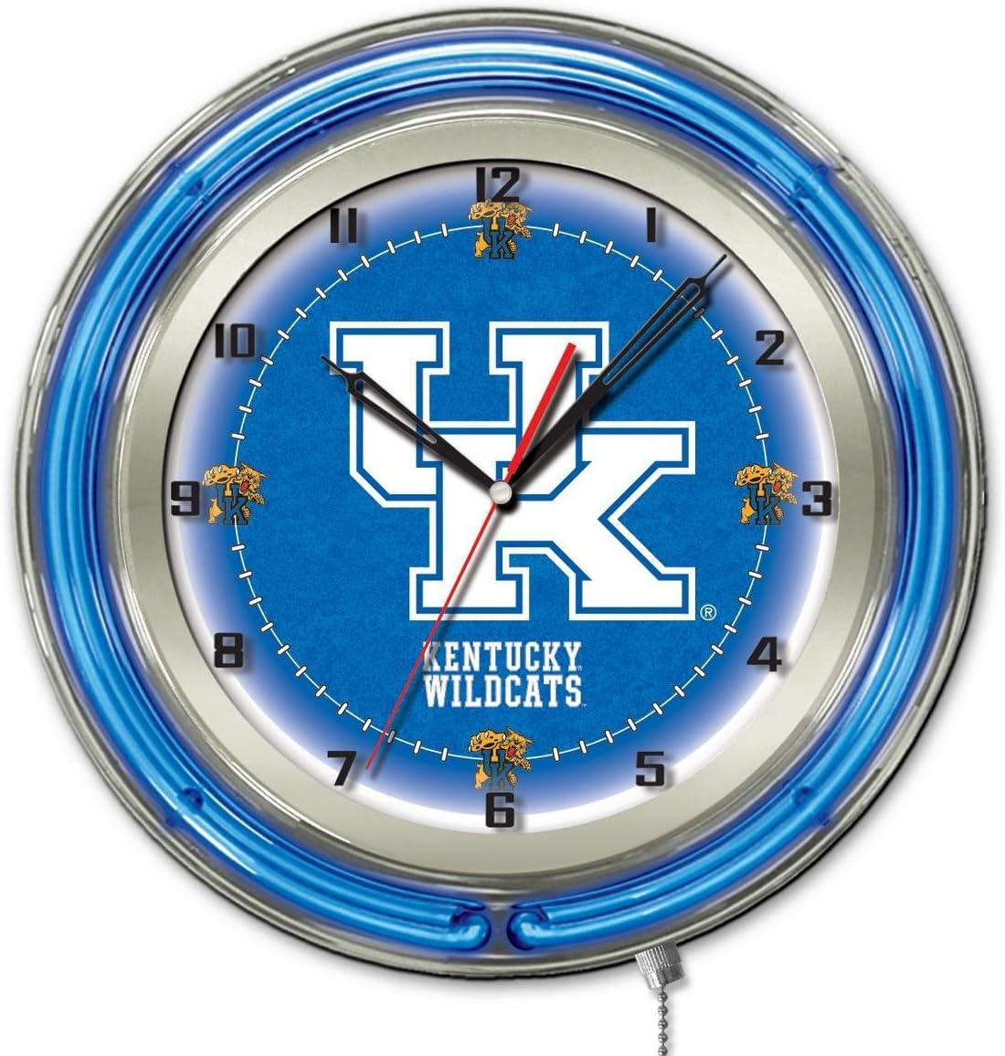 Kentucky Wildcats HBS Neon Blue College Powered OFFicial store UK Wall Battery depot