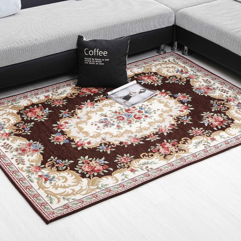 European Style, Living Room Carpet Floor Mat Doormat Bedroom Mats Hall,Entrance Door Mat Kitchen,Bathroom, Non-slip Absorbent Pad-C 120x180cm(47x71inch)