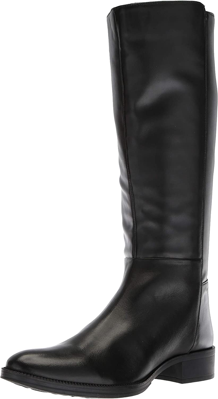 Geox Stiefel Damen, Farbe Schwarz, Marke, Modell Stiefel Damen D LACEYIN Schwarz