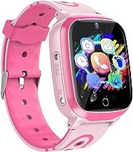 YENISEY Kids Smart Watches GPS Tracker - 12 Hrs Waterproof Smartwatch with 1.4