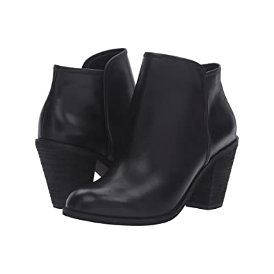 SoftWalk Frontier (Black Smooth Leather) Women