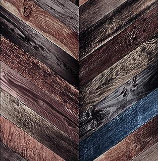 Papier peint non-tiss/é Cr/éation/-/2e /édition Best of Wood`n Stone 300431 marro Couleur/: marron 30043-1 Papier peint photor/éaliste en optique bois/-/10,05 m x 0,53 m Fabriqu/é en Allemagne