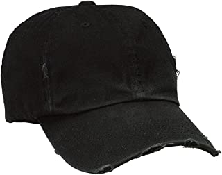 Distressed Cap, Color: Black, Size: One Size