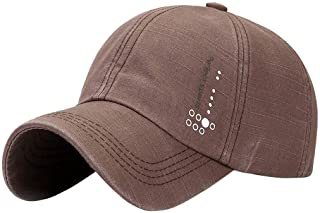 Cocity Vintage Adjustable Relaxed Fits Washable Golf Snapback Baseball Cap Sports Dad Hat for Men Women