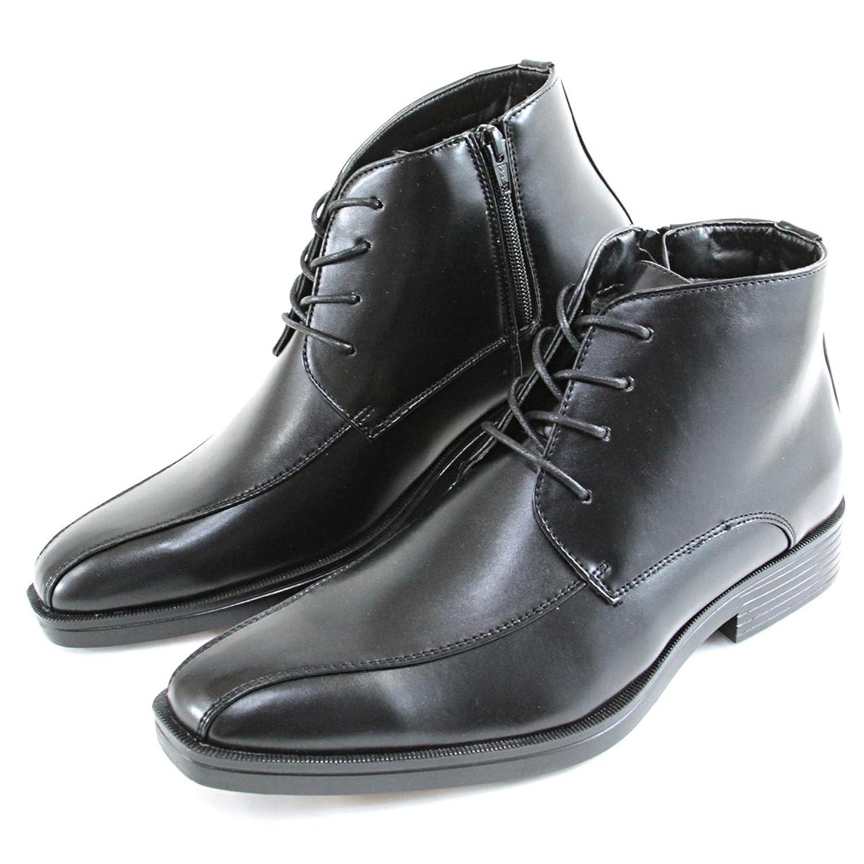 [ノースデイト] スノーブーツ -350- ビジネスブーツ ブラック