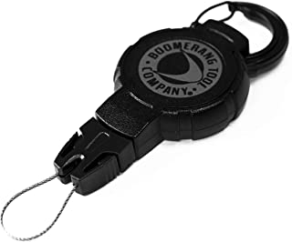 Boomerang Scuba Diving Retractable Gear Tethers with a Kevlar Cord and Universal End Fitting - Great for Scuba Diving Gauges, Flashlights, Cameras and More - Made in The USA