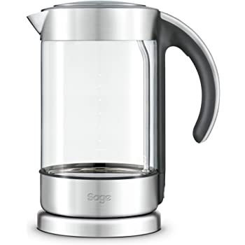 CRYSTAL CLEAR Glass Kettle Electric Jug