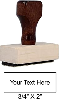 Traditional Custom Rubber Stamp (Small)