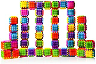 Dimple DC5190 54Piece Interconnecting Stacking Blocks Building Set for Boys & Girls, Educational Fun, Great for Toddlers & Children Toy